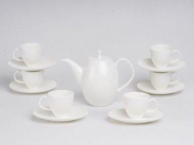 Bộ trà anna trắng