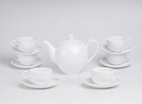 Bộ trà came trắng