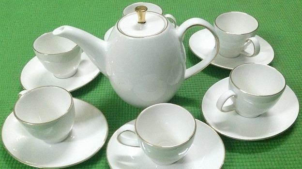 Bộ trà Minh Long 0.47 L Ana Cao Chỉ Vàng
