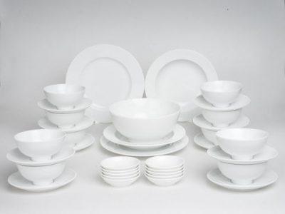 Bộ đồ ăn trắng 35 sản phẩm