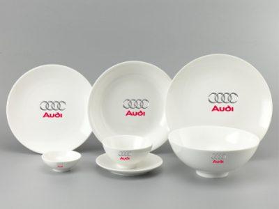 Bộ Đồ Ăn In Logo Audi