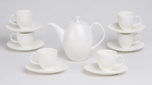 Bộ trà Minh Long 0.47 L Ana Cao Trắng