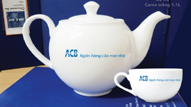 Bộ Trà Minh Long 1.1 L Camellia Giá In Logo ACB