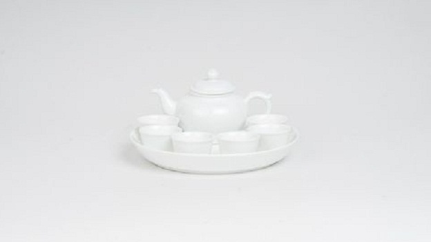 Bộ trà Minh Long 0.35 L Jasmine Trắng