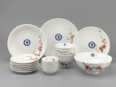 Bộ Đồ Ăn In Logo Chelsea