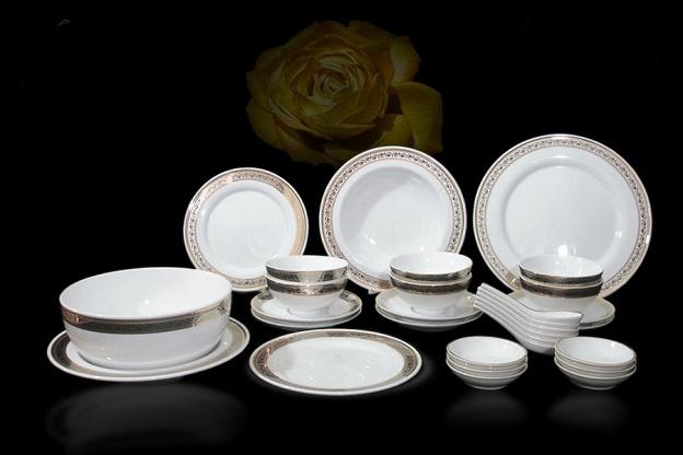 Cách lựa chọn bộ bàn ăn đẹp của gốm sứ Minh Long