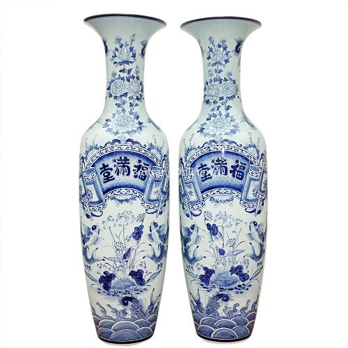 Bình gốm sứ Bát Tràng | Những điều cần biết khi chọn mua bình gốm sứ