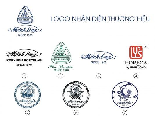 Logo gốm sứ minh long thương hiệu Minhlong Master