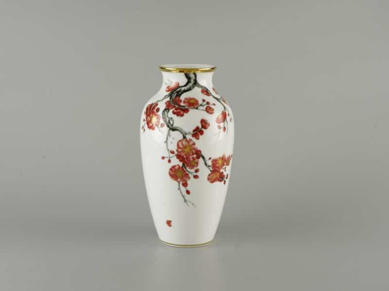 Bình Hoa Minh Long – Hoa Đào 27cm x 14.5cm