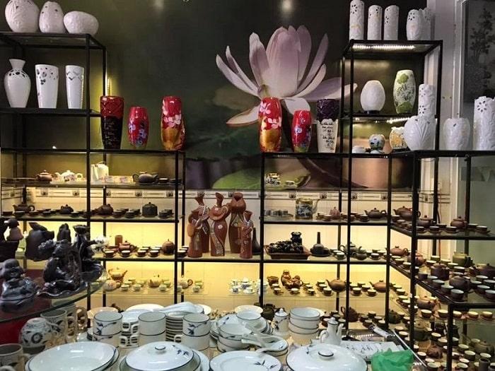 Cửa hàng gốm sứ Bình Dương – Gốm sứ Minh Long tại TP.HCM