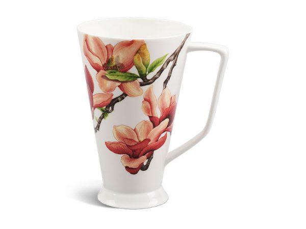 ly sứ, ca trà, cốc sứ minh long, Ca mỏng 0.5 L - Hoa Mộc Lan