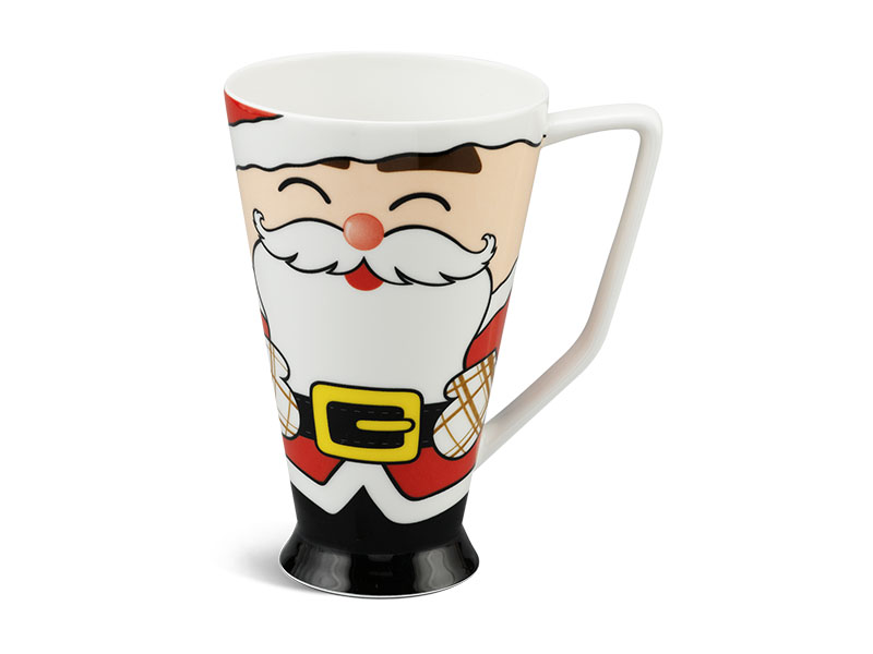 ly sứ, ca trà, cốc sứ minh long, Ca mỏng 0.5 L - Ông Noel