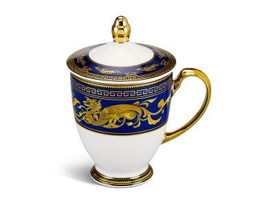 ly sứ, ca trà, cốc sứ minh long, Ca trà 0.30 L - Hoàng Cung - Cẩm Tú