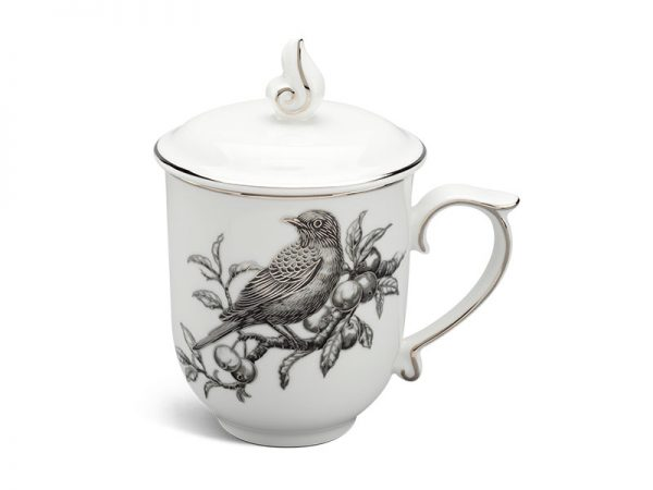 ly sứ, ca trà, cốc sứ minh long, Ca trà 0.30 L - Mẫu Đơn IFP - Sơn Ca