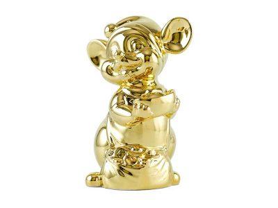 Chuột Quý 16 cm - Trang trí dát vàng 24K