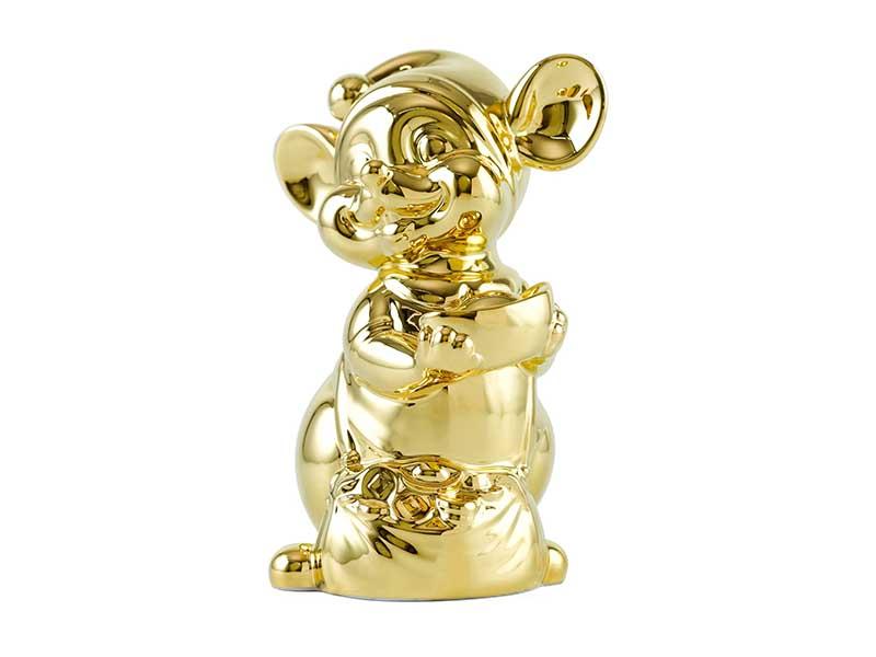 Chuột Quý 24 cm – Trang trí dát vàng 24K