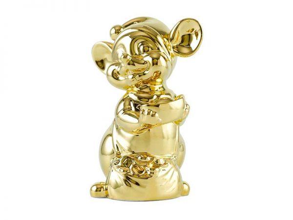 Chuột Quý 10 cm – Trang trí dát vàng 24K