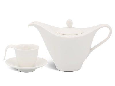 Bộ cà phê 0.45 L - Anh Vũ - Trắng Ngà