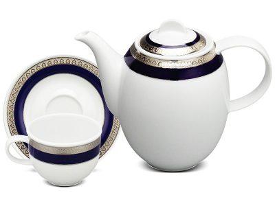 Bộ cà phê 0.8 L - Sago - Thiên Tuế Xanh khắc nổi