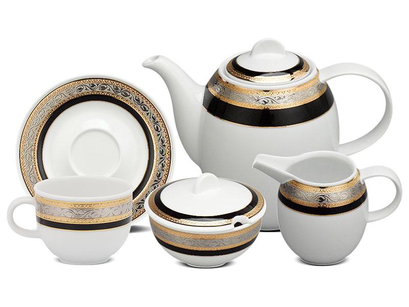 Bộ cà phê 1.3 L - Sago - Hoa Hồng Đen khắc nổi