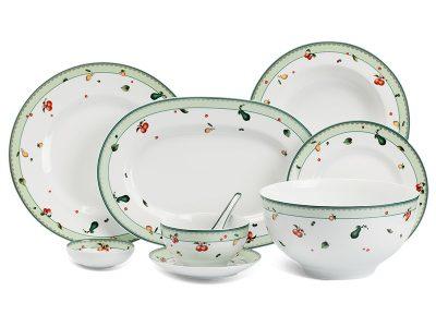 Bộ đồ ăn Âu-Á 45 sản phẩm - Camellia - Quả Ngọt