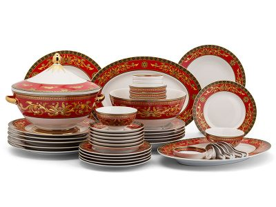 Bộ đồ ăn Âu-Á 45 sản phẩm - Hoàng Cung - Quốc Sắc