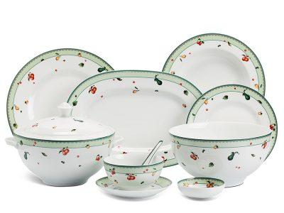 Bộ đồ ăn Âu-Á 46 sản phẩm - Camellia - Quả Ngọt