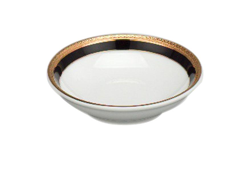 Chén chấm 9 cm - Jasmine - Hoa Hồng Đen khắc nổi