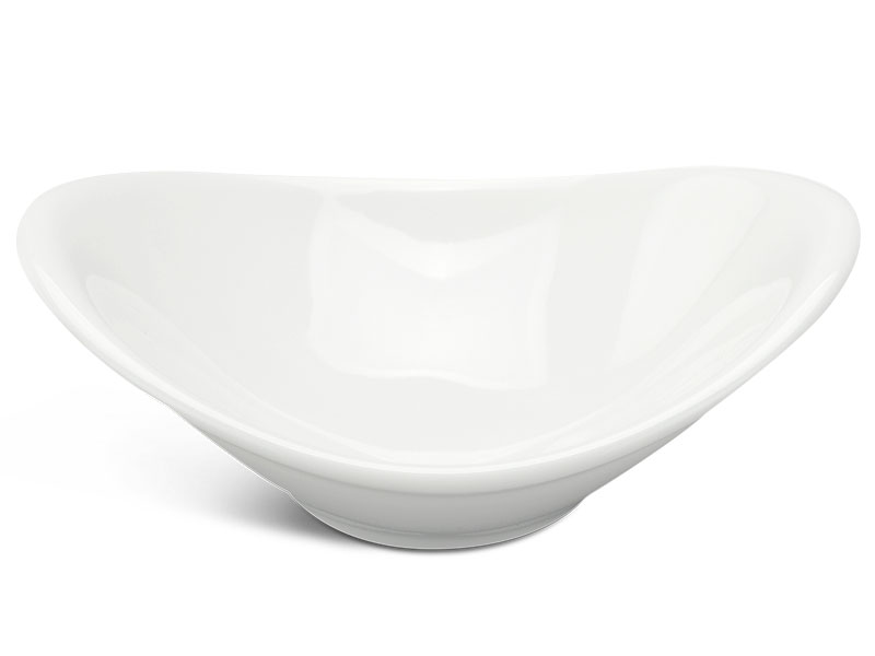 Chén chấm oval 9 x 6 cm - Anh Vũ Lys - Trắng Ngà