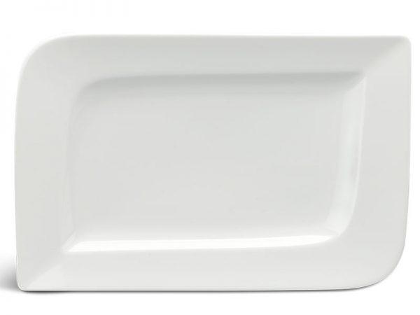 Dĩa chữ nhật 27 x 18 cm - Anh Vũ Ly's - Trắng Ngà