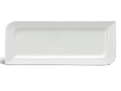 Dĩa chữ nhật dài 25 x 10.5 cm - Anh Vũ Ly's - Trắng Ngà