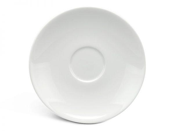 Dĩa lót chén 15 cm - Anh Vũ Ly's - Trắng Ngà