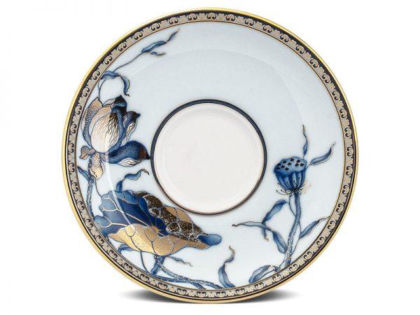 Dĩa lót chén 15 cm - Hoàng Cung - Sen Ngọc