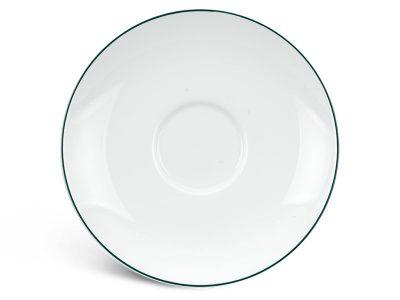 Dĩa lót chén 15 cm - Jasmine - Chỉ Xanh Lá