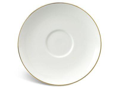 Dĩa lót chén 15 cm - Jasmine IFP - Chỉ Vàng