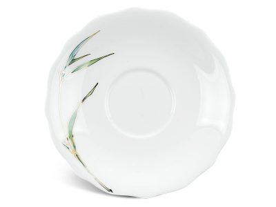 Dĩa lót chén 15 cm - Mẫu Đơn IFP - Thanh Trúc