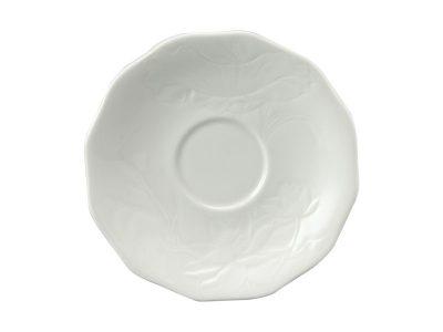 Dĩa lót chén 15 cm - Sen IFP - Trắng Ngà