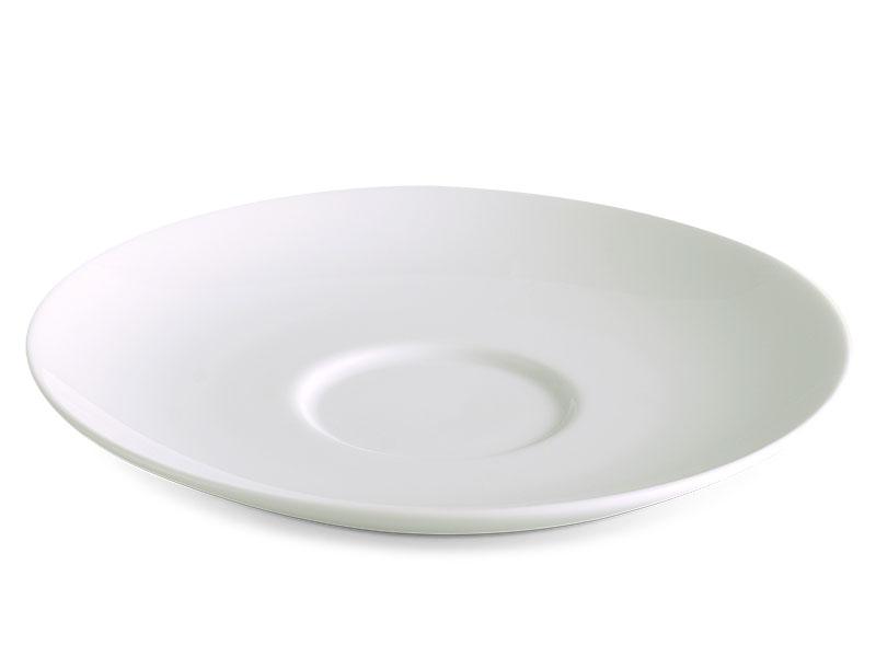 Dĩa lót chén súp 13 cm - Jasmine Lys - Trắng Ngà