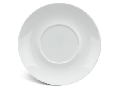 Dĩa lót thố chữ nhật 15 cm - Jasmine - Trắng