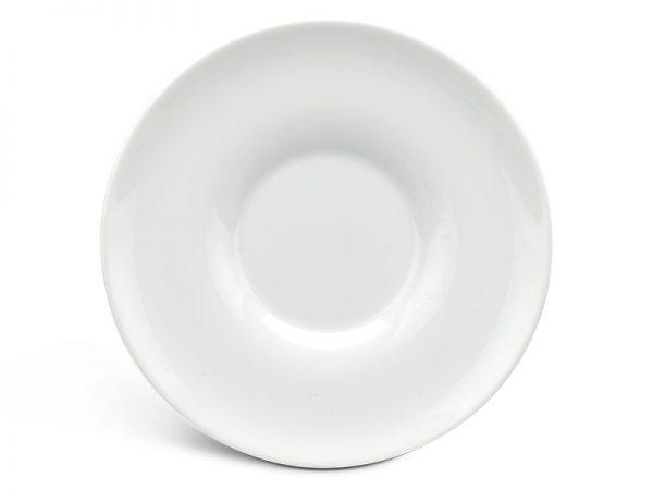 Dĩa lót thố súp 17.5 cm - Anh Vũ Ly's - Trắng Ngà