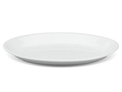 Dĩa oval ảo 21 cm - Daisy - Trắng