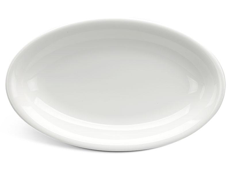Dĩa oval ảo 28 cm - Daisy Ly's - Trắng Ngà
