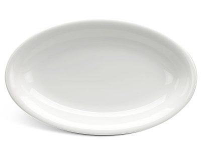 Dĩa oval ảo 32 cm - Daisy Ly's - Trắng Ngà