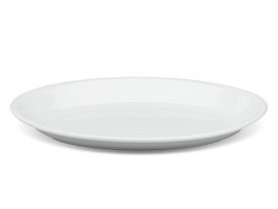 Dĩa oval ảo 32 cm - Daisy - Trắng