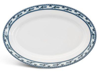 Dĩa oval 28 cm - Jasmine - Chim Lạc