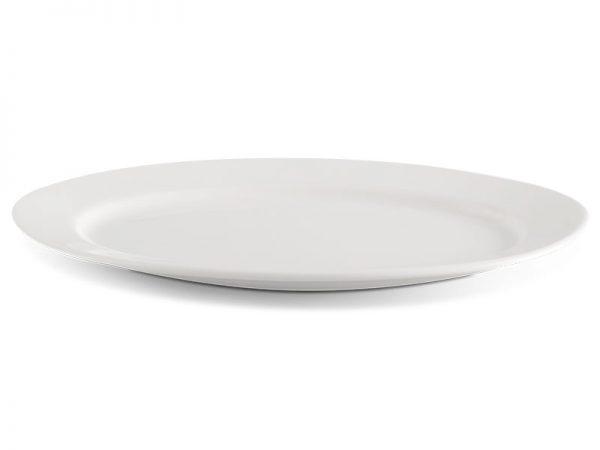 Dĩa oval 28 cm - Jasmine Lys - Trắng Ngà