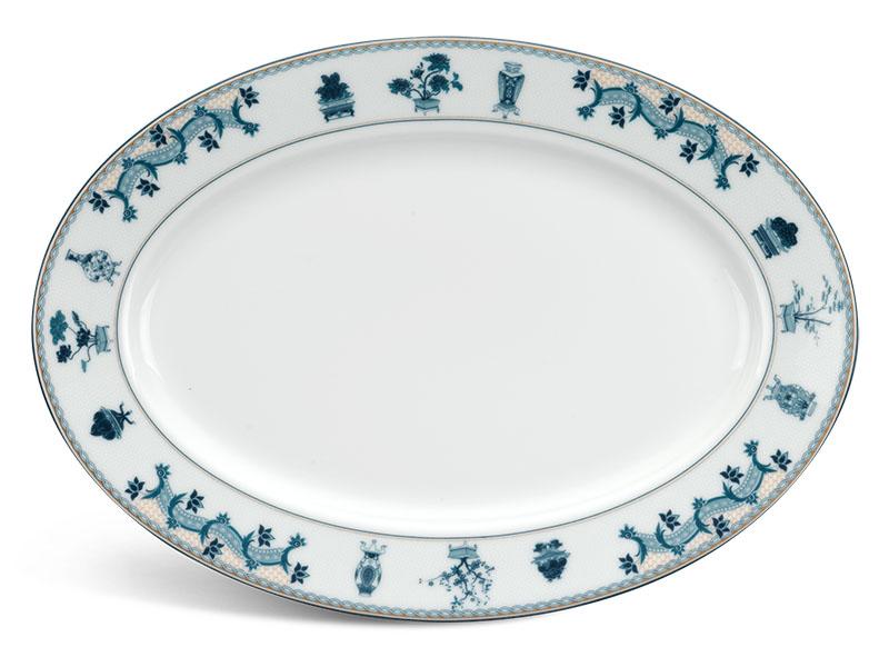 Dĩa oval 28 cm - Jasmine - Tứ Quý