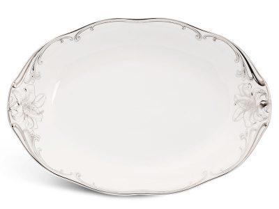 Dĩa oval 32 cm - Đài Các - Trang trí Bạch Kim