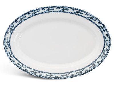 Dĩa oval 32 cm - Jasmine - Chim Lạc
