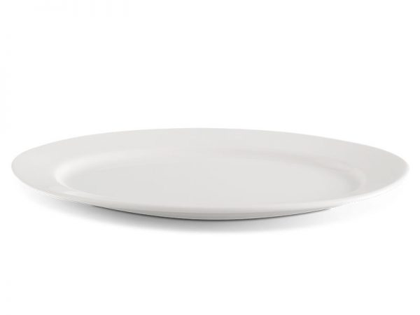 Dĩa oval 32 cm - Jasmine Ly's - Trắng Ngà